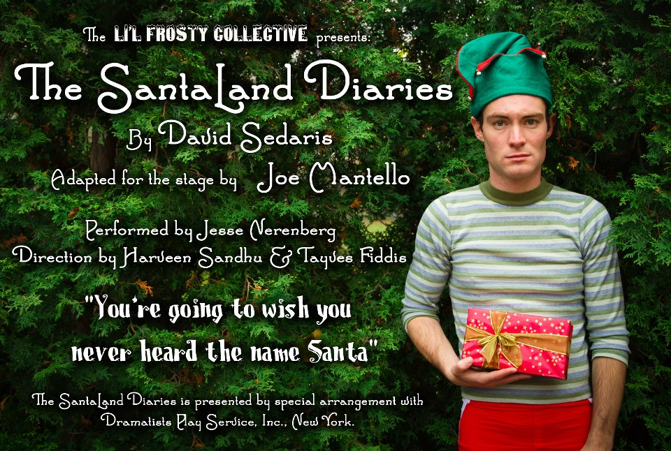 We Recommend The Santaland Diaries My Theatre My Entertainment