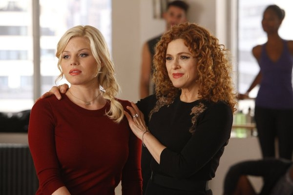with Bernadette Peters on Smash