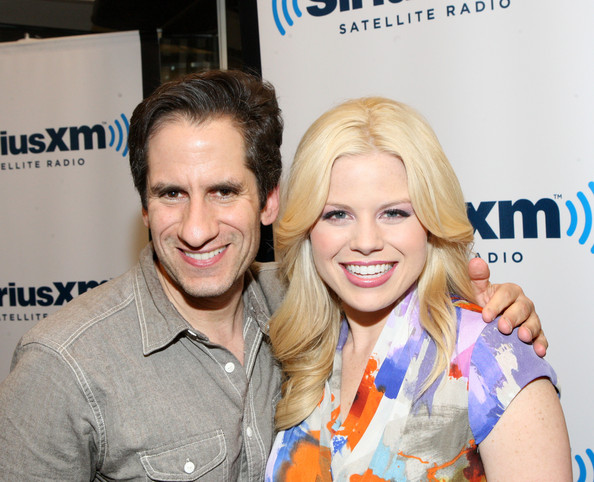 Megan+Hilty+Seth+Rudetsky+Celebrities+Visit+sCThsiTGwrvl 2