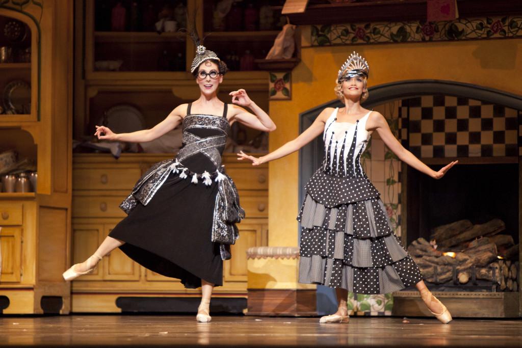 with Rebekah Rimsay in Cinderella