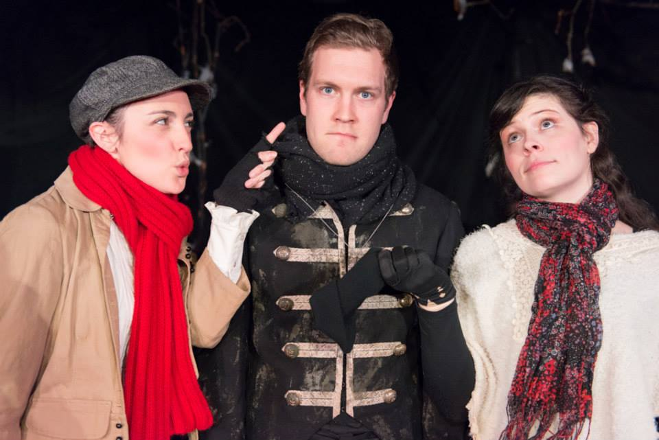with Spencer Robson & Katie Ribout in As You Like It