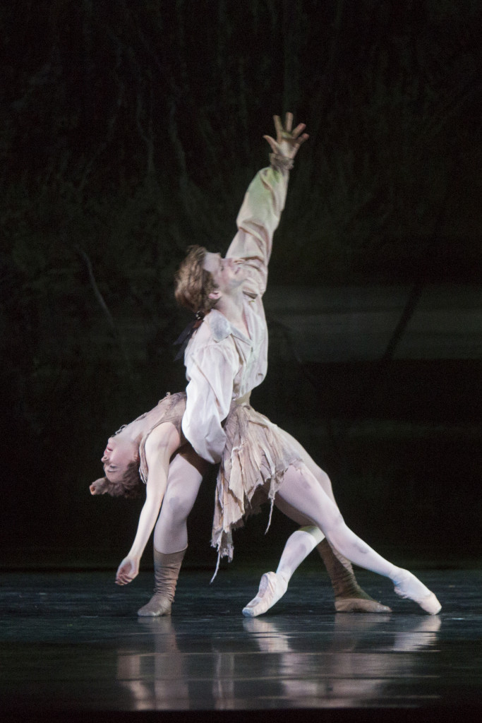 with Harrison James in Manon