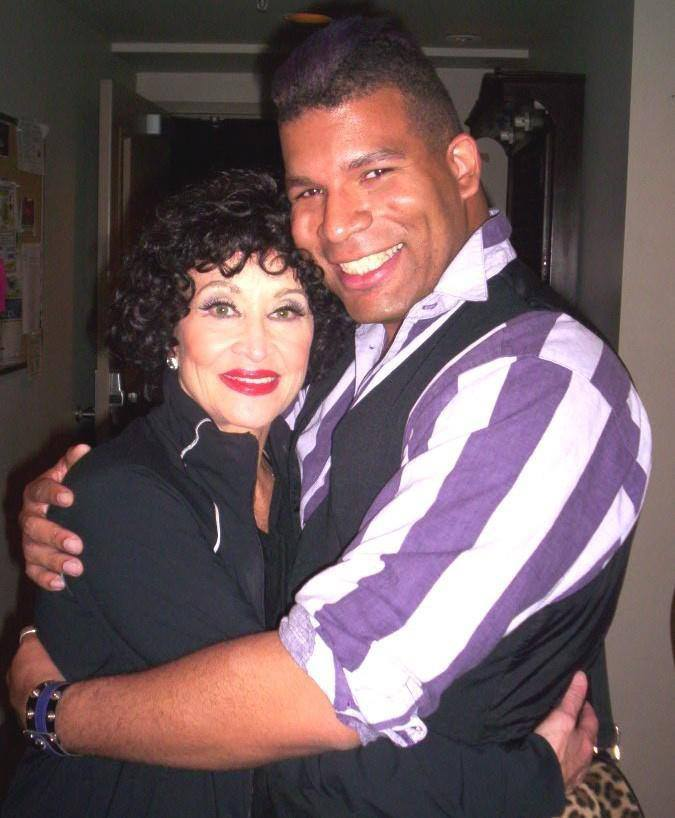 with Chita Rivera (star of K&E shows Kiss of the Spider Woman, Chicago, The Visit, The Rink, and Zorba)