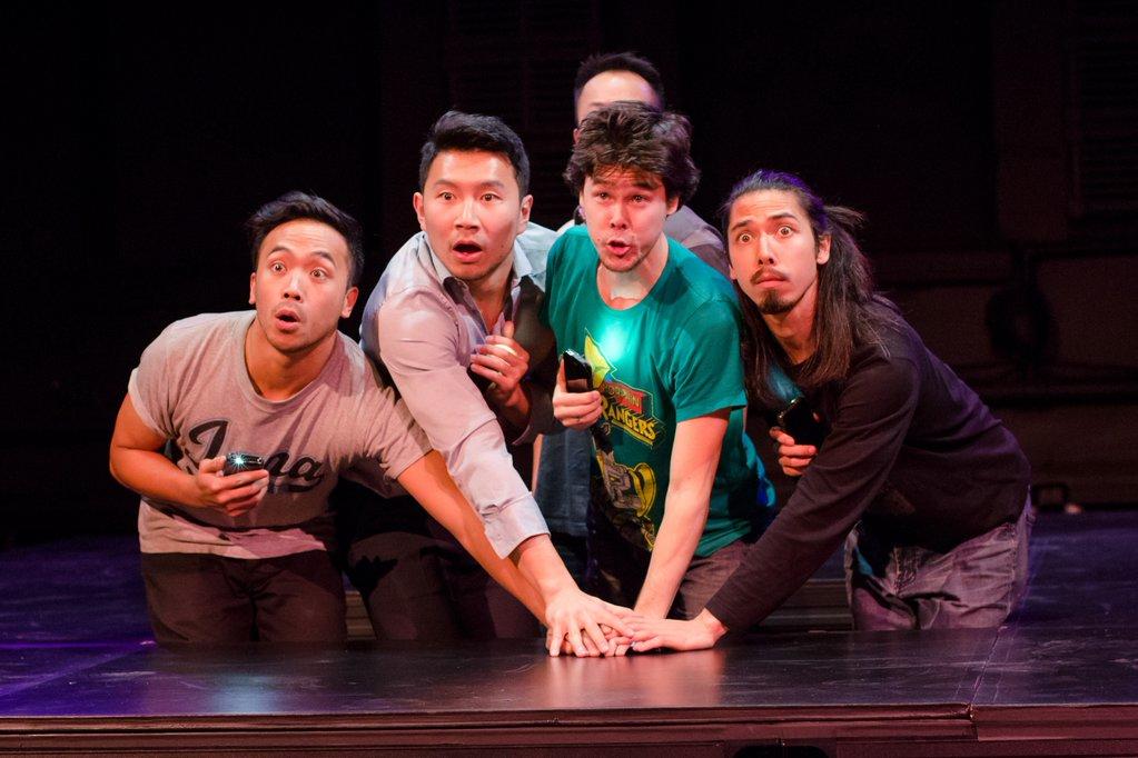 Banana Boys - Darrel Gamotin, Simu Liu, Matthew Gin, Philip Nozuka and Oliver Koomsatira.