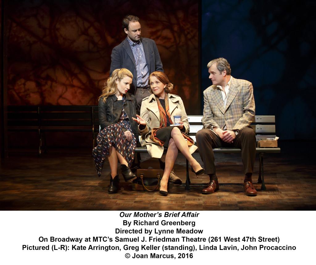 Our Mother's Brief Affair Samuel J. Friedman Theatre