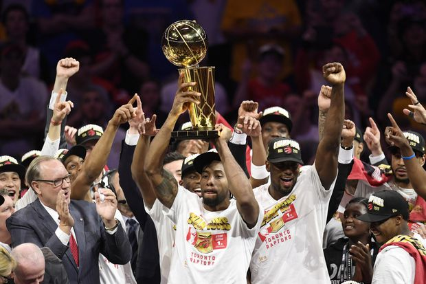 d2f0ff8433f The Toronto Raptors won the NBA Championship in their first-ever trip to  the NBA Finals.